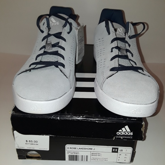 Adidas Casual Shoes D Rose Lakeshore Size 7 New f3e25a839